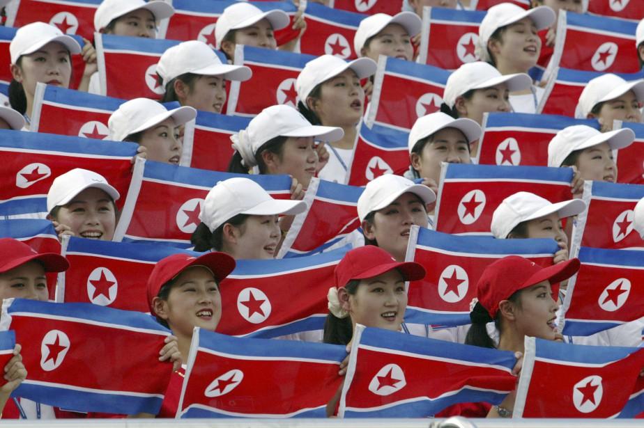 De janvier à juin, 593 Nord-Coréens sont entrés... (ARCHIVES AP)