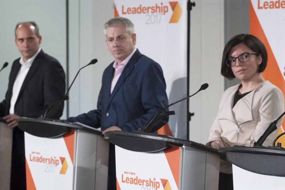 Les candidats à la direction du NPD Guy... (Archives La Presse canadienne, Graham Hugues)