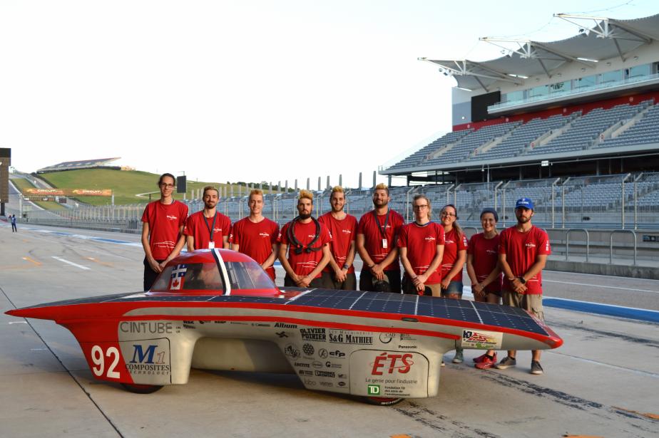 GP Formula Sun : les apprentis ingénieurs montréalais brillent sous le soleil du Texas