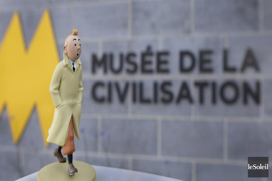 Fan invétéré de Tintin, notre photographe Jean-Marie Villeneuve a profité de l'exposition Hergé à Québec, au Musée de la civilisation, pour échafauder une mise en scène avec une figurine du reporter à la houppe. «On a l'impression qu'il s'en va à sa propre exposition», explique Jean-Marie, qui collectionne les figurines de cette bande dessinée depuis deux ans.Données techniques : Nikon D4. Focale 32 mm, ISO 1000, ouverture f6.3, vitesse 1/500 e seconde | 13 juillet 2017