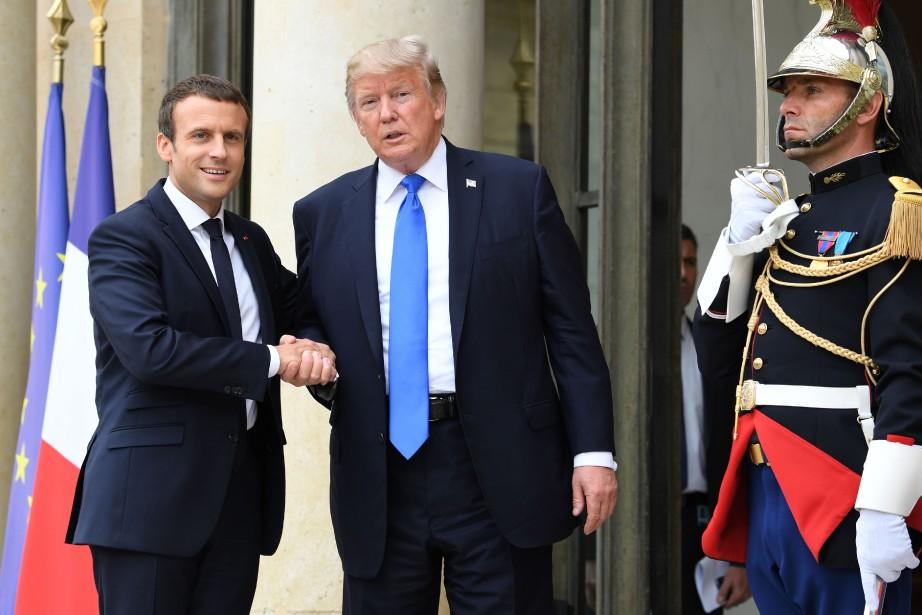 Les deux présidents, qui se sont déjà rencontrés... (PHOTO ALAIN JOCARD, AFP)