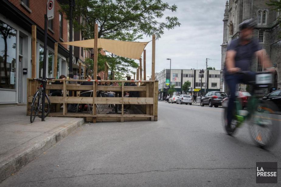 À la suite d'une décision de la Ville... (Photo Olivier Jean, La Presse)