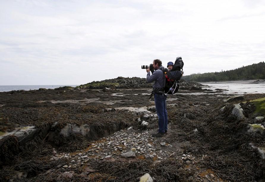 L'aventure sur l'Île-aux-Lièvres demeurera mémorable pour le photographe Yan Doublet. (Le Soleil, Annie Mathieu)