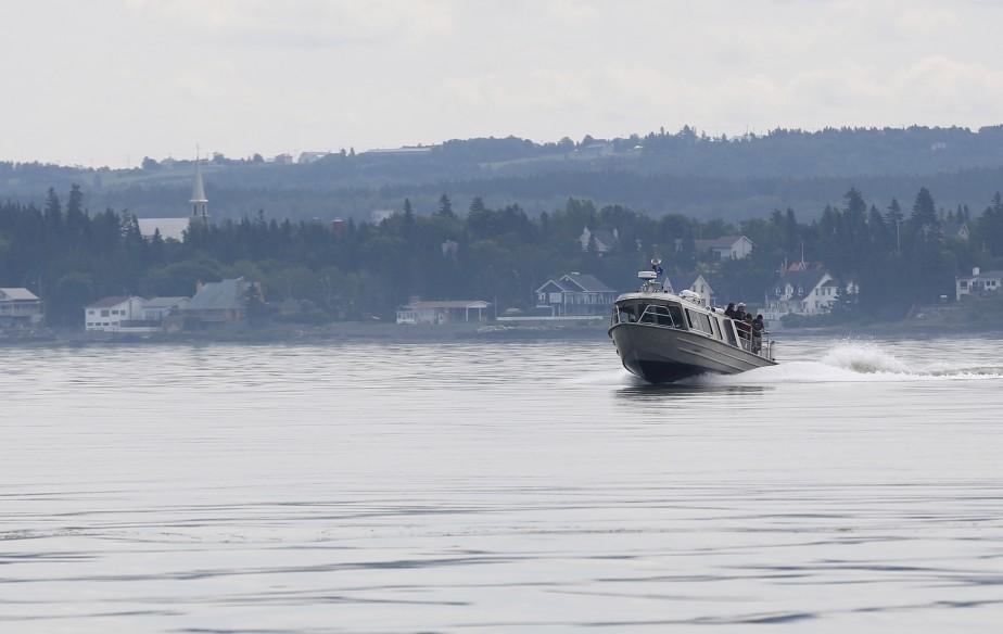 Il est possible de se rendre à l'Île-aux-Lièvres qu'a bord d'un des trois traversiers de la Société Duvetnor<br /><br /> (Le Soleil, Yan Doublet)