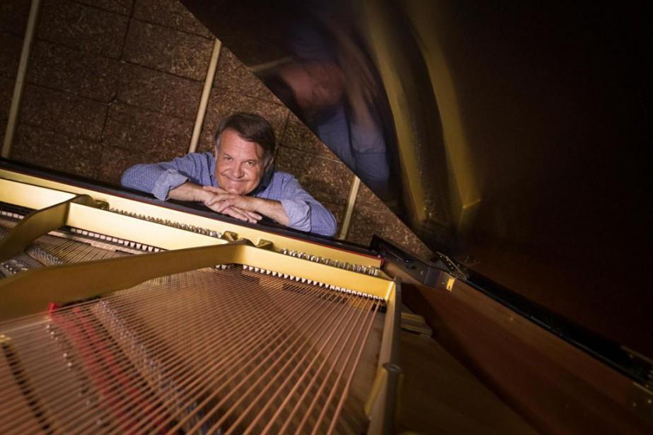 Le compositeur montréalaisGabriel Thibaudeau présenteraen ciné-concert The Man... (PhotoIVANOH DEMERS, LA PRESSE)
