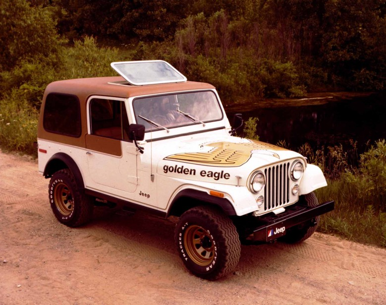 1979 : Les versions civiles du Wrangler ont connu du succès à partir de l'acquisition de Willys par American Motors. ()