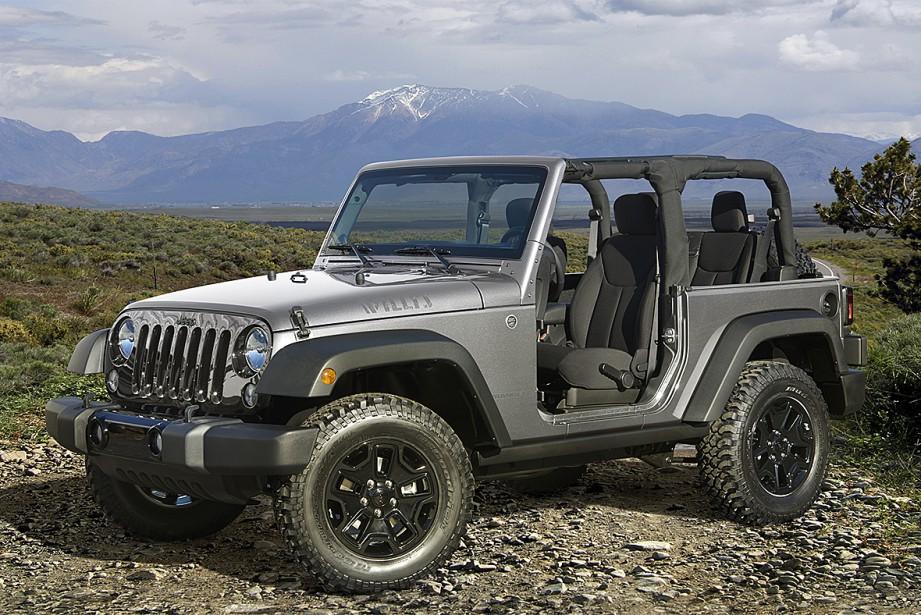 2016 : La Jeep Wrangler édition Willys Wheeler | 14 juillet 2017