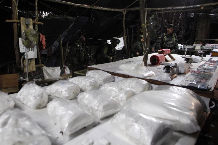 Les FARC ont contrôlé pendant des décennies des... (PHOTO John Vizcaino, ARCHIVES REUTERS)