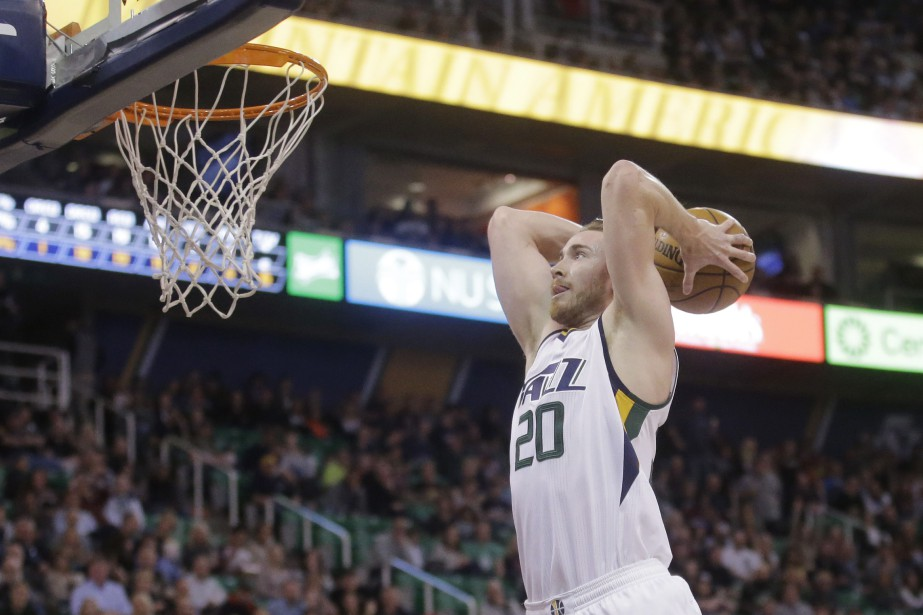 Gordon Hayward... (PHOTO ARCHIVES AP)