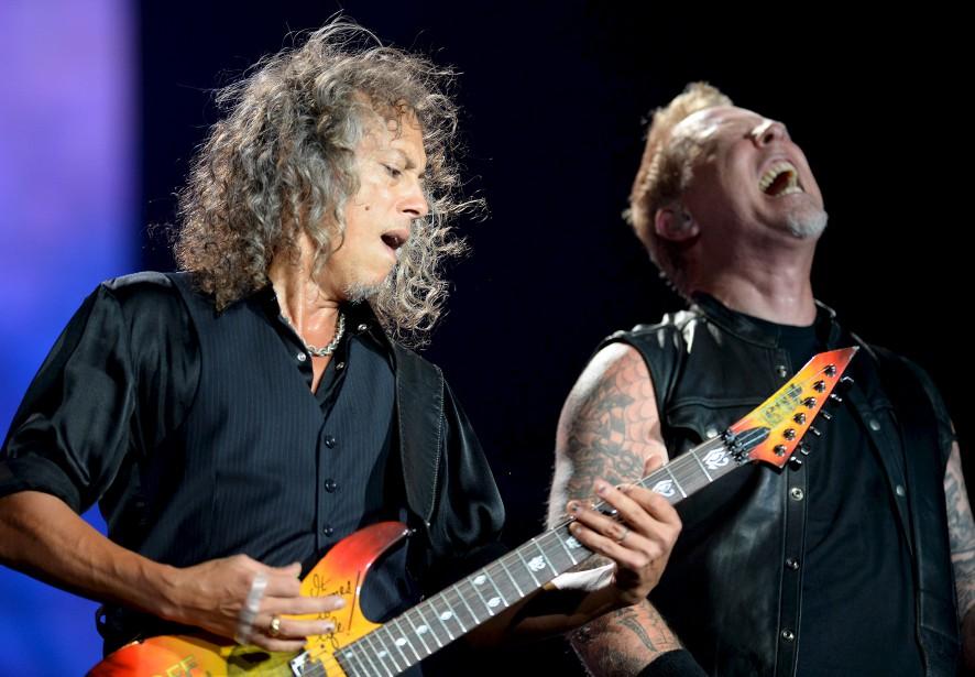 Kirk Hammett et James Hetfield | 14 juillet 2017