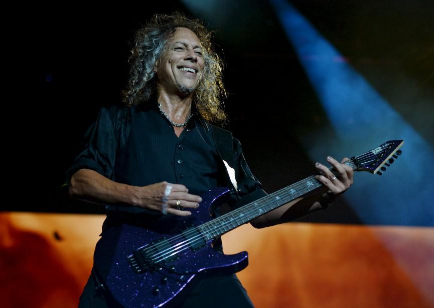 Kirk Hammett | 14 juillet 2017
