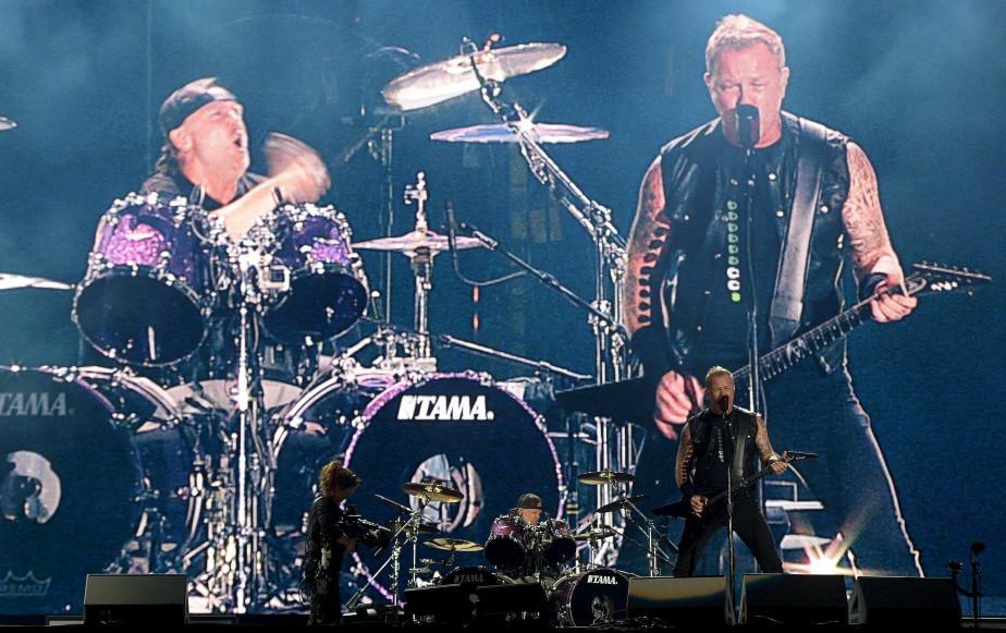 Lars Ulrich et James Hetfield | 15 juillet 2017