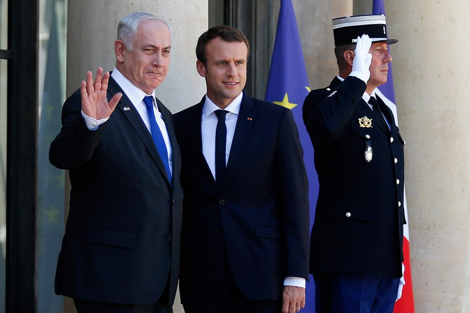 Le premier ministre israélien Benyamin Nétanyahou s'est rendu... (PHOTO GEOFFROY VAN DER HASSELT, AGENCE FRANCE-PRESSE)