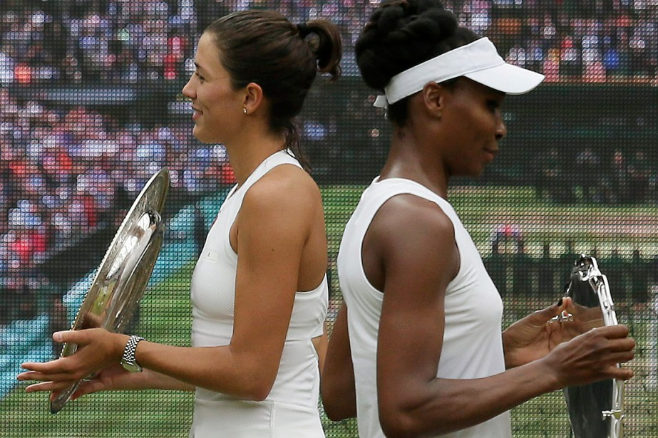 Garbine Muguruza a défait Venus Williams en finale... (PHOTO TIM IRELAND, ASSOCIATED PRESS)