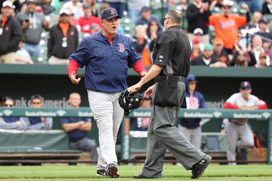 L'entraîneur John Farrell... (Photo Mitch Stringer, USA TODAY Sports)