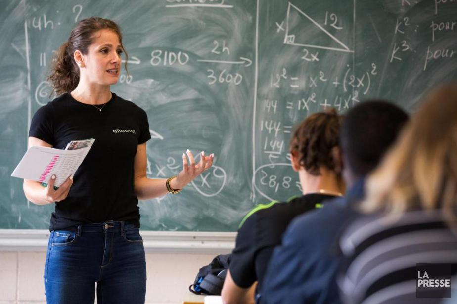 Ève Amabili-Rivet,gestionnaire des relations avec l'école et la... (PHOTO SIMON GIROUX, LA PRESSE)