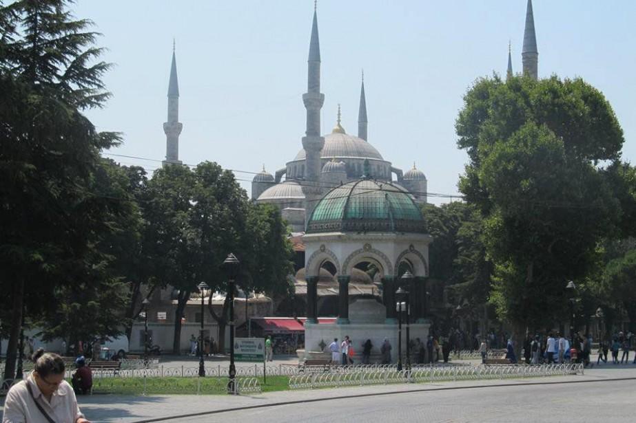 La Mosquée bleue... (Photo Samuel Larochelle, collaboration spéciale)