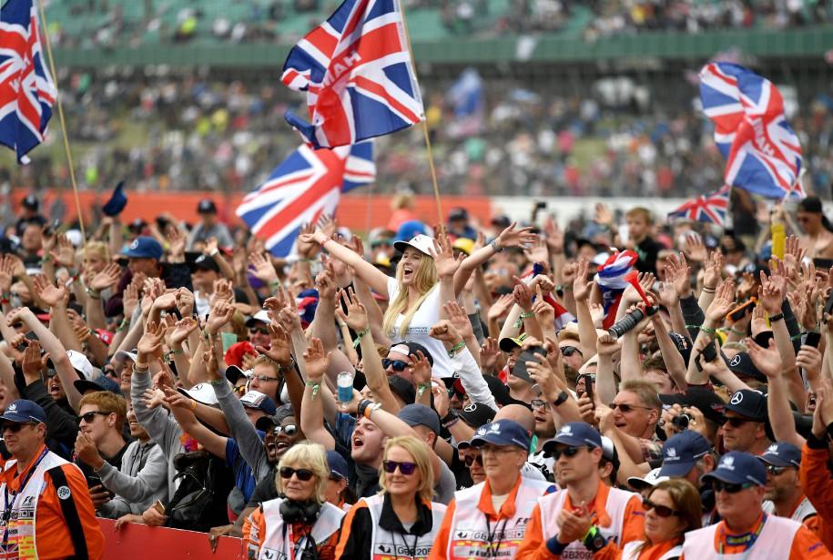 Les fans de Hamilton ont eu matière à célébrer. (AFP)
