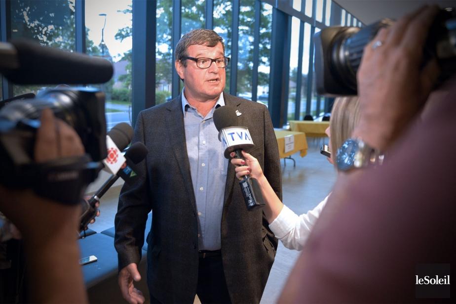 Le maire Bernard Ouellet a soutenu lundi que... (Photo Le Soleil)