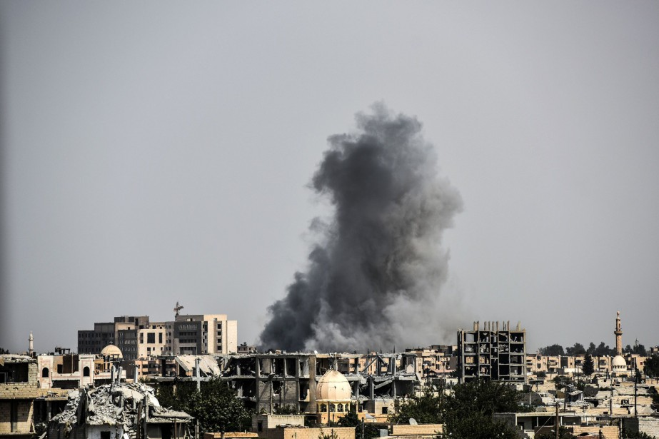 Selon l'OSDH, l'explosion a frappé un barrage géré... (AFP)