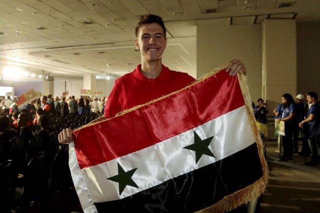 Hafez al-Assad, 15 ans, est le fils aîné... (Photo O Globo)