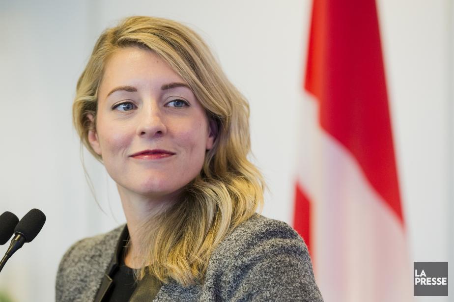 La ministre du Patrimoine canadien, Mélanie Joly.... (Archives La Presse)