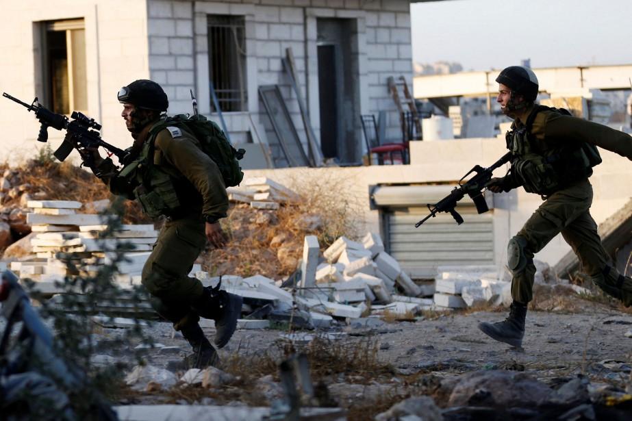 Depuis octobre 2015, Israël et les Territoires palestiniens... (REUTERS)