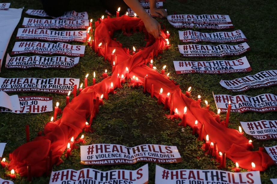 En 2016, 1,8 million de nouvelles infections par... (Photo Aaron Favila, archives AP)