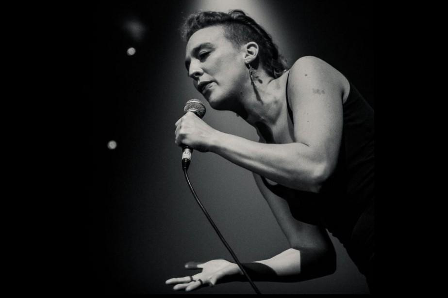 La chanteuse française Barbara Weldens, 35 ans, est... (Photo tirée de Facebook)