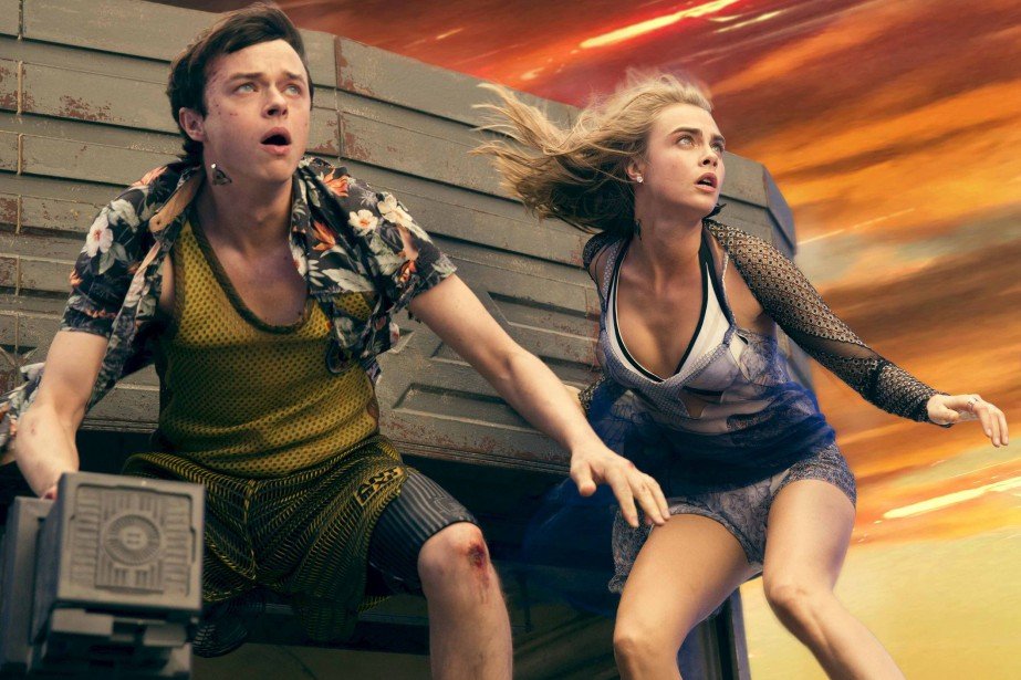 Dane DeHann et Cara Delevingne incarnent Valérian et... (Photo fournie par stx entertainment)