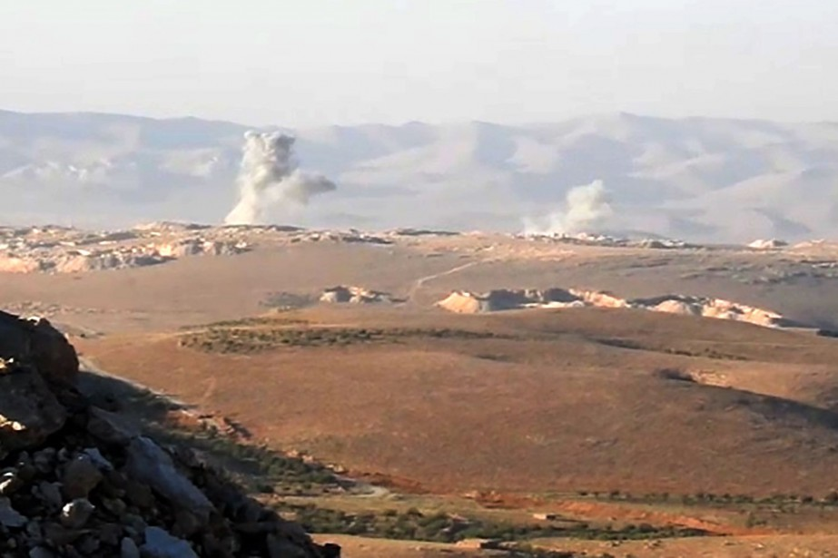 Les combats qui opposent depuis mardi Ahrar al-Cham,... (AFP)