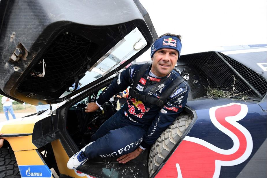 Cyril Despres a remporté son 2e rallye Silk... (Photo : AFP)