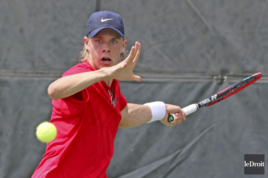Denis Shapovalov... (Photo Patrick Woodbury, archives Le Droit)