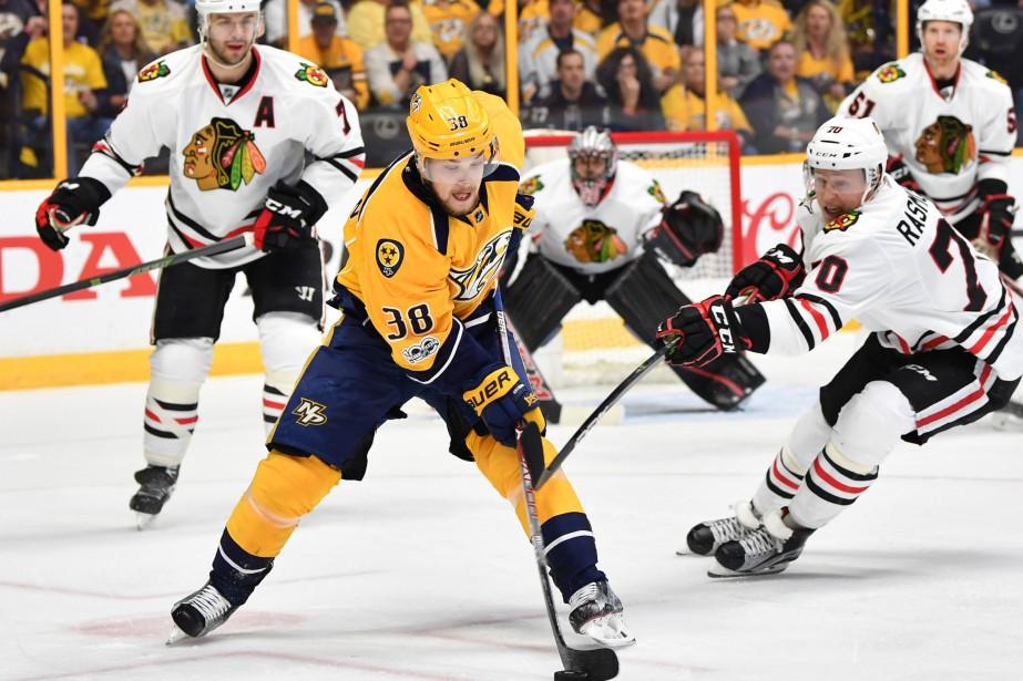 Arvidsson empochera un salaire moyen de 4,25 millions... (Photo USA Today Sports)