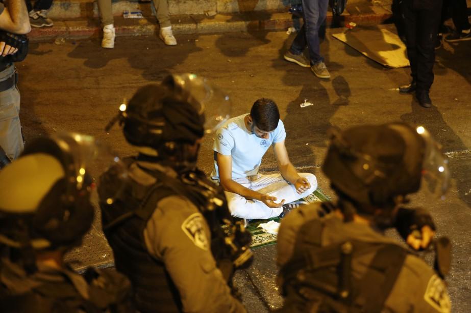 Israël est sous pression après la flambée de... (Photo AFP)