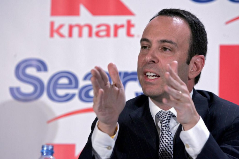 Eddie Lampert, PDG de Sears Holdings, en 2004... (Photo Vincent Laforet, archives The New York Times)