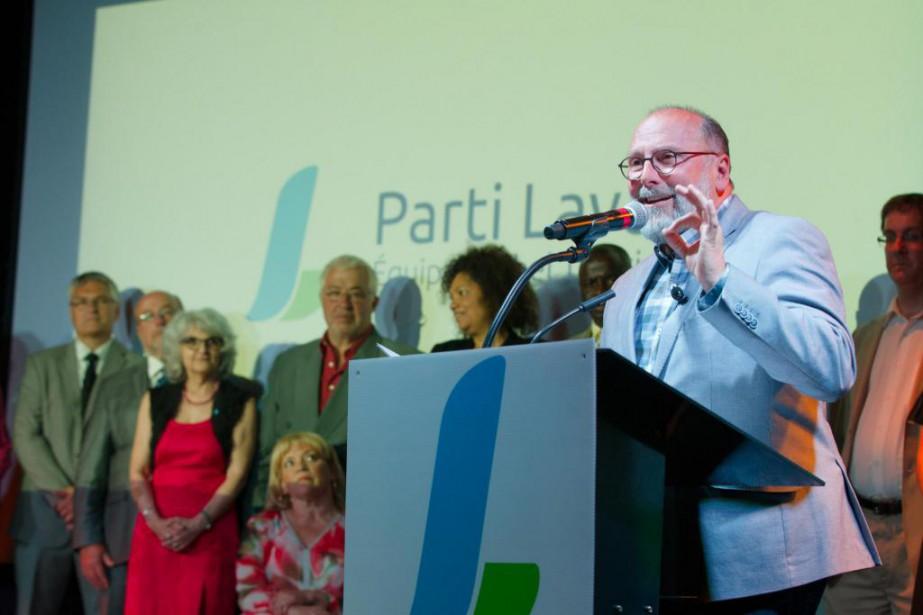 Michel Trottier, chef du Parti Laval... (Photo Ninon Pednault, Archives La Presse)