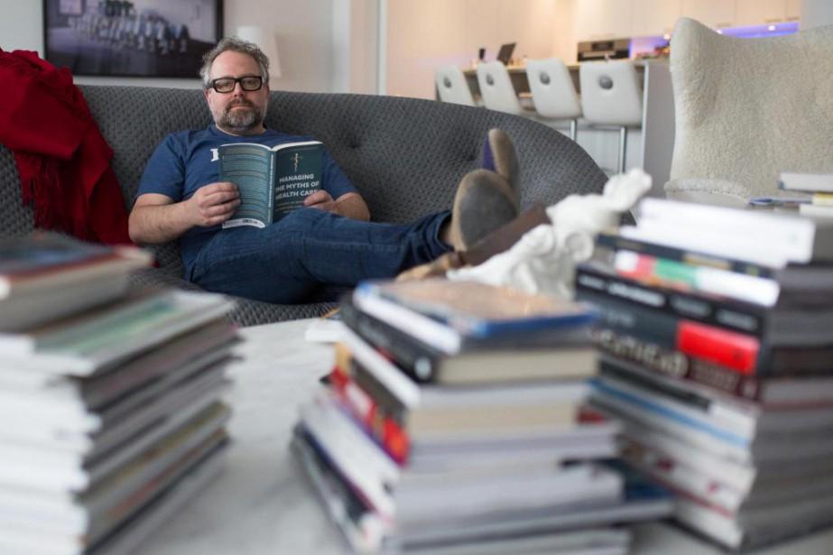 Alexandre Taillefer confie être un acheteur impulsif. «Dès... (PHOTO SIMON GIROUX, LA PRESSE)