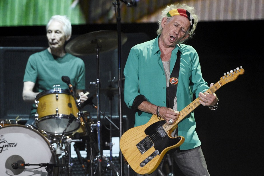 Charlie Watts et Keith Richards... (PHOTO ARCHIVES AP)