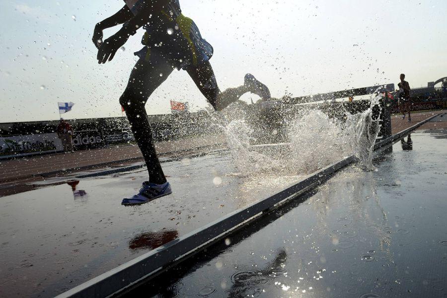 La Russie prévoit envoyer 19 athlètes aux championnats du... (Photo Reuters)