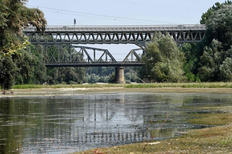 La situation du fleuve Po (photo), le plus... (AFP)