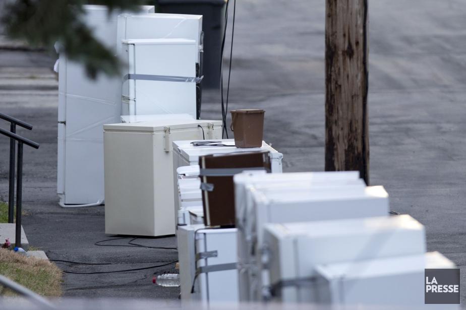 Les vieux frigos, congélateurs et... (Photo Alain Roberge, archives La Presse)
