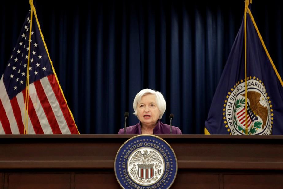 La présidente de la Fed, Janet Yellen, ne... (PHOTO ARCHIVES REUTERS)