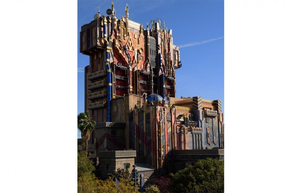 Le manègeTower of Terror, à Disneyland,a été transformé.... (Photo Richard Harbaugh, fournie par Disneyland Resort)