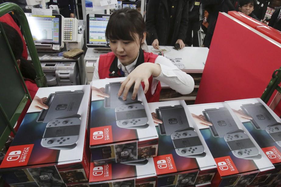 Nintendovise toujours un objectif de 10 millions de... (THE ASSOCIATED PRESS)