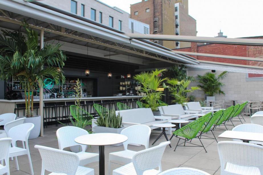 La terrasse Perché:une petite oasis urbaine à découvrir!... (Photo fournie par Perché)