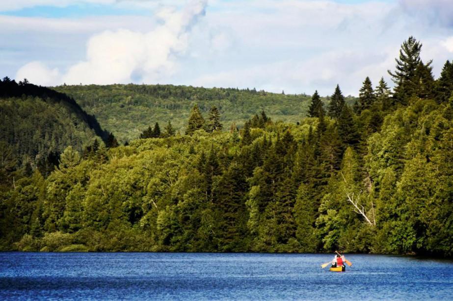 Pour souligner le 150e anniversaire du Canada, l'accès... (Photo Bernard Brault, La Presse)