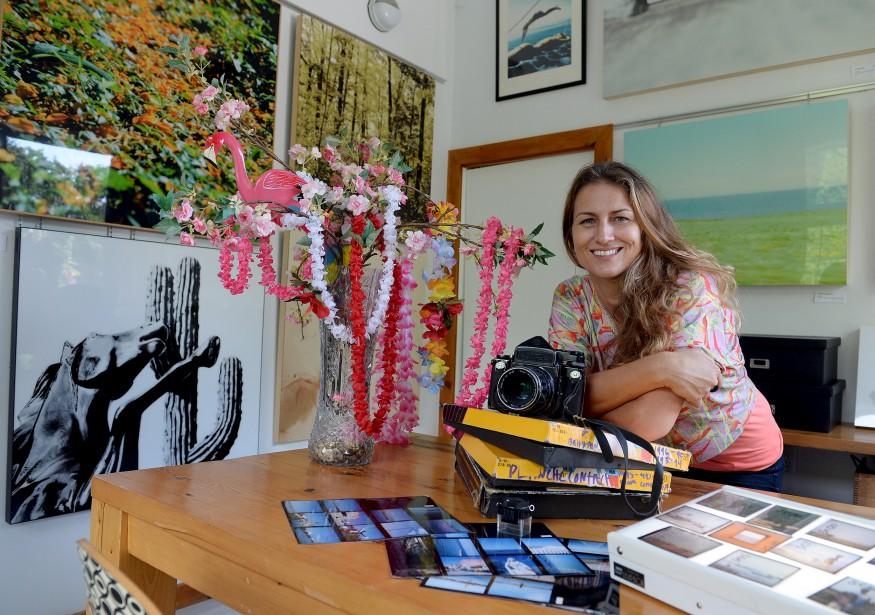 Brigitte Thériault est ouverte aux changements. Elle a la chance d'exercer son métier où qu'elle soit dans le monde. (Le Soleil, Erick Labbé)