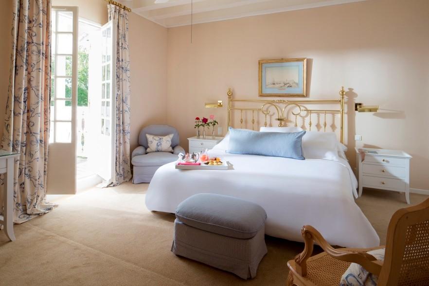 L'hôtel Les Prés... (Photo tirée du site web de l'hôtel Les Prés d'Eugénie)