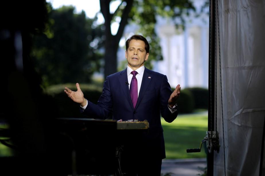 Le nouveau directeur des communications de la Maison-Blanche,Anthony... (PHOTO Joshua Roberts, REUTERS)
